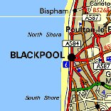 Click here for a map for Blackpool